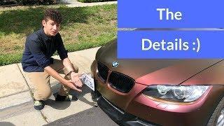 NEW BMW E92 LIP INSTAL!