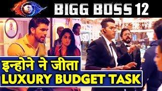 These Contestant WINS LUXURY BUDGET TASK | Bigg Boss 12 Latest Update