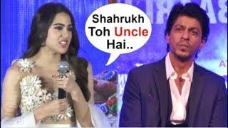 Shahrukh Khan UPSET With Sara Ali Khan For Calling Him Uncle In Front Of Audience At Filmfare Awards