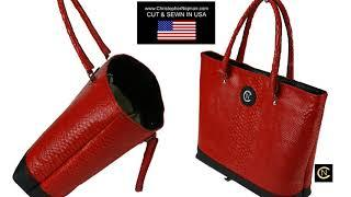 MADE IN USA -  Luxury Leather Bags - Christopher Nejman