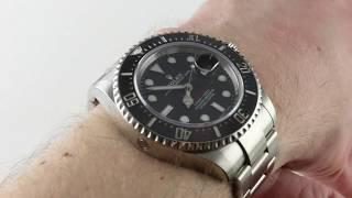 Rolex Sea-Dweller 126600 Luxury Watch Review