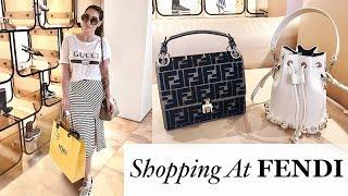 More FENDI Please ! | Luxury Shopping- Fendi & Harrods