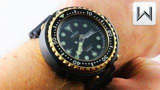 "Seiko Prospex ""GOLDEN TUNA"" Marine Master Professional 1978 S23626 Luxury Watch Review"