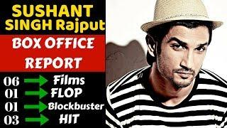 Sushant Singh Rajput box office collection analysis hit and flop movies list