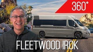 360 Video Tour | IROK by Fleetwood | Go Inside This Luxury Class B Camper Van