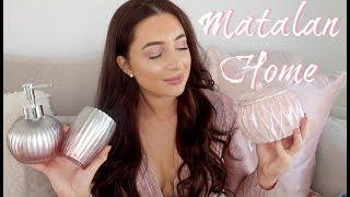 MATALAN GREY & BLUSH PINK NEW IN HOMEWARE HAUL | LUXURY AFFORDABLE CHEAP INTERIOR | CUSHIONS ETC