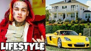 6ix9ine (Tekashi69) Luxury Lifestyle 2018 (Money House Inside & Outside)