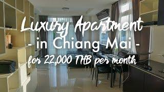 Luxury Apartment Tour in Chiang Mai Thailand - Digital Nomad Lifestyle