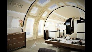 $100,000,000 ULTIMATE MODERN LUXURY SUPERJET ((EXCLUSIVE VIP INTERIOR VIDEO))