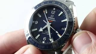 Omega Seamaster Planet Ocean GMT 600M 232.90.44.22.03.001 Luxury Watch Reviews