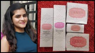 Vanya herbal Luxury | Pomegranate skincare for glowing skin | Rose water | Ria Das
