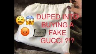 DUPED INTO BUYING A FAKE GUCCI ?!? UNBOXING FAIL? FAKE OR REAL?!?