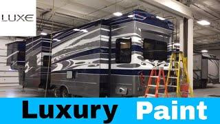 Luxury Fifth Wheel - Slide Out Paint - on a Luxe Elite