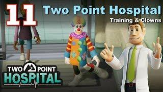 Two Point Hospital Let's Play #11: Training & Clowns