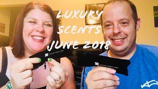 LUXURY SCENT BOX// JUNE 2018// FRAGRANCE SUBSCRIPTION BOX// UNBOXING