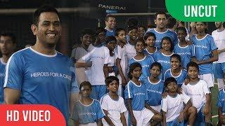 UNCUT - Luxury Watch Brand, Officine Panerai FOOTBALL MATCH | M.S Dhoni