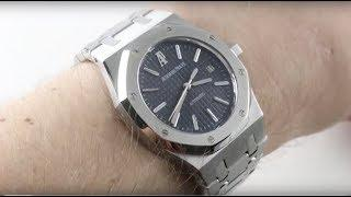 Audemars Piguet Royal Oak (BLUE/39MM) 15300ST.OO.1220ST.02 Luxury Watch Review