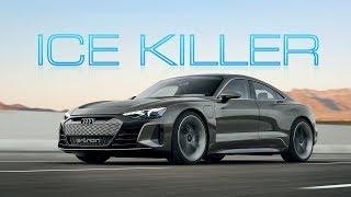 The Audi e-Tron GT Isn't A Tesla-Killer. It's An ICE Killer