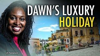 MP Dawn Butler's luxury Sicily holiday on Parliament's time | Jack Buckby