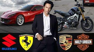 ★Keanu Reeves ⋆Luxurious Car Collection ⋆Moto ⋆2018★