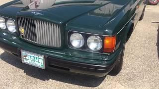 Bentley BROOKLANDS 150,000 dollar car ! Crazy expensive luxury vehicle . Cars of the rich and famous
