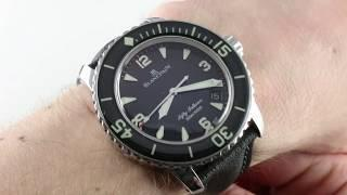 Blancpain Fifty Fathoms 5015-1130-52 Luxury Watch Review