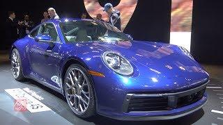 2020 Porsche 911 Carrera 4S - Exterior And Interior Walkaround - 2018 LA Auto Show