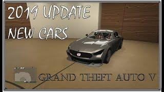 GTA 5 CAR GARAGE TOUR ONLINE 2019 l Most Unique Luxury Cars l Free l NEW UPDATE CARS 2019