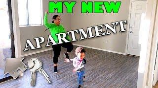 LUXURY EMPTY APARTMENT TOUR 2019 IN AZ!