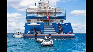 $300,000,000 EXTREME ULTRA LUXURY SUPER MEGAYACHT ((EXCLUSIVE INTERIOR VIDEO))
