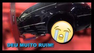 Crowned Vlog Ep. 62:  Montamos as rodas do Passat CC e deu RUIM!