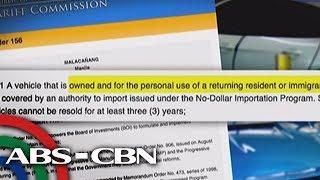 Bandila: P28-M halaga ng luxury cars, nasabat ng Customs