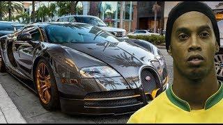 Ronaldinho Luxury Cars Collection 2018