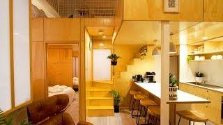 Absolutely Luxury Tiny Apartment Renovation Version 1 by The Tiny House Company