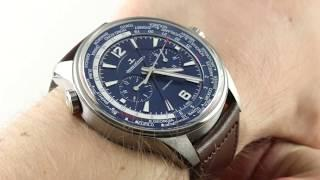 2018 Jaeger-LeCoultre Polaris Chronograph World Time 905T471 Luxury Watch Review