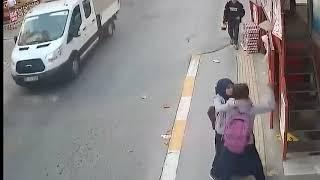 girl hit by car and lux car runaway