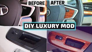 DIY LUXURY CAR INTERIOR MODIFICATION
