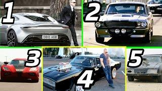 Top 5 Hollywood Movies Iconic & Signature Cars In Real Life ✮ Price & Real Name ✮