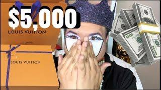 $5,000 LOUIS VUITTON BAG