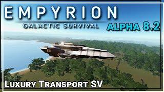 ★ Luxury Transport SV small vessel - Empyrion Galactic Survival workshop showcase