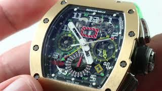 Richard Mille RM011 Flyback Chronograph (RM11-02) Luxury Watch Reviews