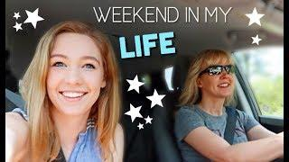 Weekend in My Life: Unexpected Visitor, A cappella, Sorority Event!!