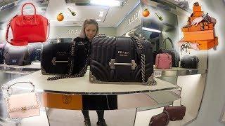 Luxury Shopping Vlog & An Hermes Event????Designer Bags Fendi Valentino Prada Balenciaga Givenchy ++