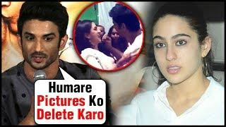 SHOCKING! Sara Ali Khan And Sushant Singh Rajput BEGGED Media To DELETE Their Pictures