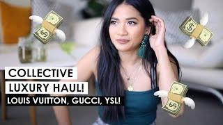 Collective Luxury Haul/Reveal! I bought THREE LV bags!!! ????