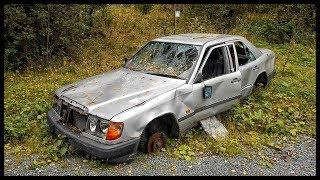 Abandoned Mercedes Benz around the world. Abandoned luxury cars.