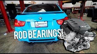BMW E90 M3 Rod Bearing Replacement (PT.1)