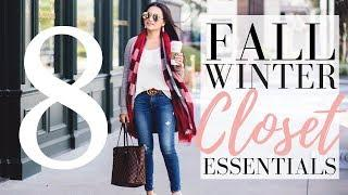 8 CLOSET ESSENTIALS FOR FALL + WINTER | LuxMommy