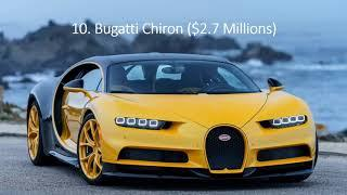 Top 10 Most Expensive Luxury Cars In The World.