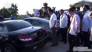 $5.5m worth of luxury cars get demolished
